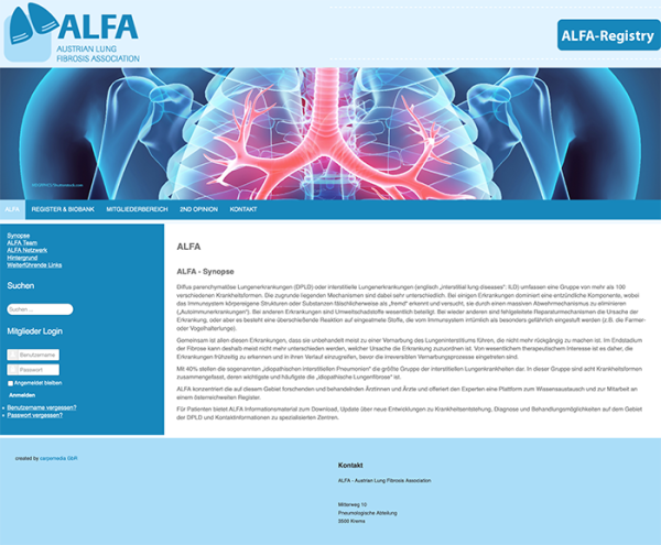 ALFA - Austrian Lung Fibrosis Association